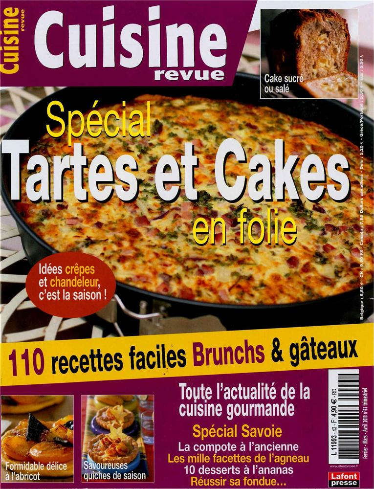 Cuisine revue n 43 tom press for Revue de cuisine