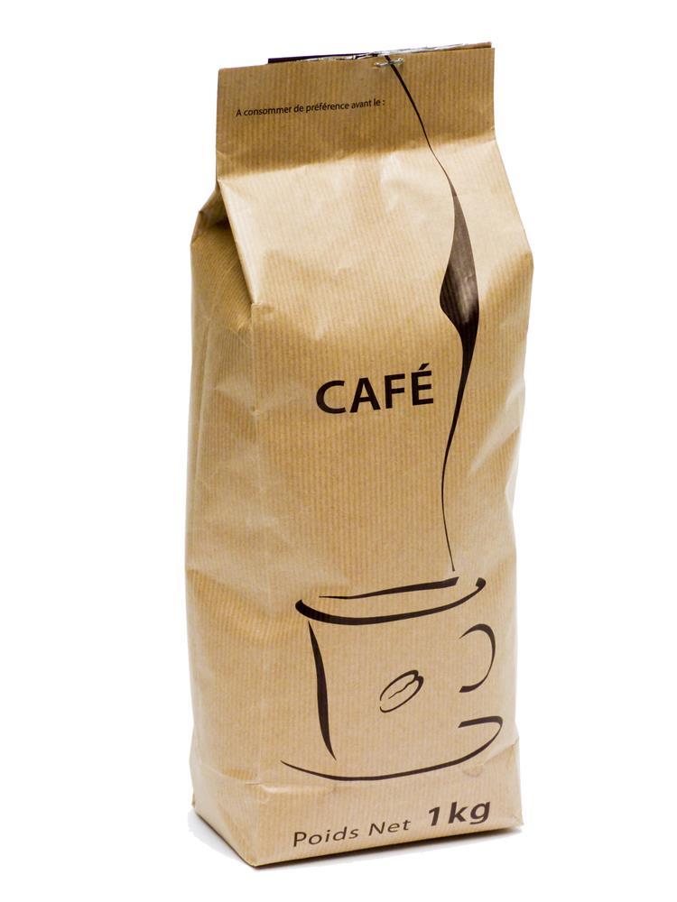 paquet de caf moulu 1 kg pour cafeti re piston tom press. Black Bedroom Furniture Sets. Home Design Ideas