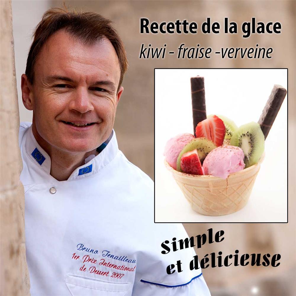 recette-de-la-glace-kiwi-fraise-et-verveine