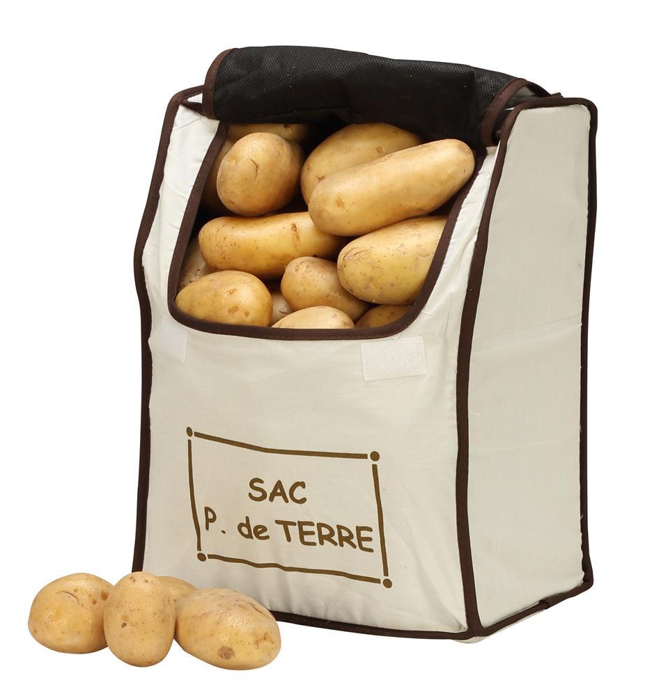Sac de conservation pommes de terre tom press - Conserver pommes coupees ...