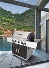 Barbecue à gaz inox 5 feux
