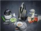 Batteur mixeur plongeur Bamix 200 W+ mini hachoir noir