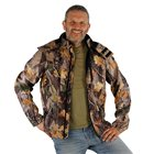 Blouson camouflage feuille homme Bartavel Buffalo camo L softshell