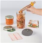 Kit kimchi pickles et légumes lactofermentés Tom Press avec recettes