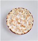 Cercle à tarte cannelé et perforé 28 cm tout inox