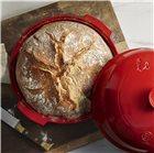 Cloche à pain 28 cm en céramique rouge Grand Cru Emile Henry