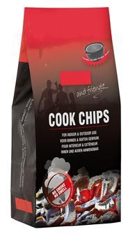 Chips combustible sans fumée