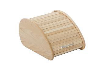 Huche à pain en bois design moderne