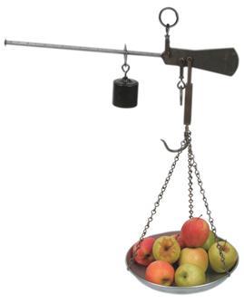 Balance romaine à plateau 20 kg