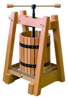 Pressoir en bois de 20 litres