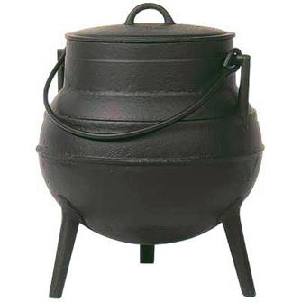 Chaudron fonte 40 litres