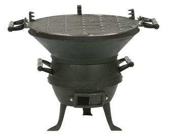 Barbecue braséro en fonte grand modèle