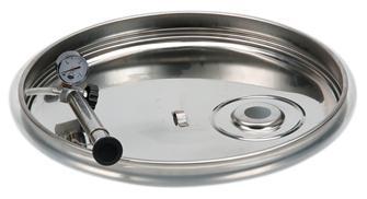 Couvercle à joint pneumatique pour cuve 400 litres