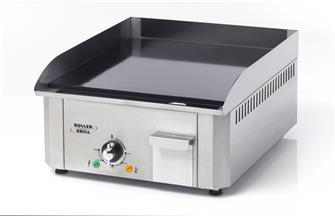 Plancha pro électrique 40 cm 3000 W émaillée 10 mm
