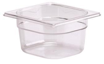 Bac gastro sans BPA GN 1/6 h. 10 cm en copolyester