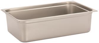 Bac gastronorm inox GN 1/1 h. 15 cm EN-631