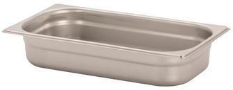 Bac gastronorm inox GN 1/3 h. 6,5 cm EN-631