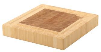 Billot carré 30x30 en bambou
