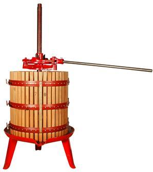 Pressoir à cliquet 327 litres