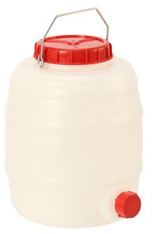 Tonnelet cylindrique 15 litres