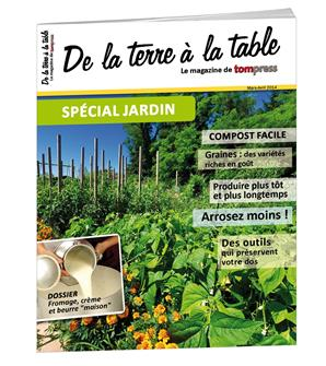 Tom Press Magazine spécial Jardin 2014