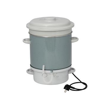 Extracteur de jus à vapeur émaillé électrique