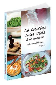 Livre La cuisine sous vide à la maison