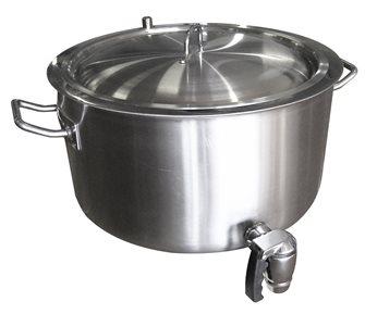 Marmite double paroi 18 litres avec robinet