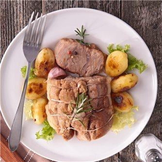 Recette du rôti de veau cuit au four à basse température
