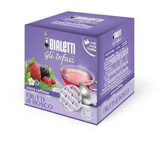 Boîte de 12 capsules Bialetti infusion fruits des bois
