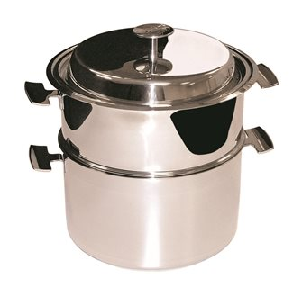 Ensemble de cuisson Baumstal inox induction 20 cm