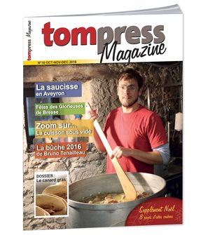Tom Press Magazine octobre novembre décembre 2016