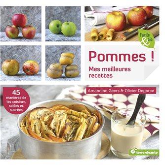 Livre Pommes ! Mes meilleures recettes
