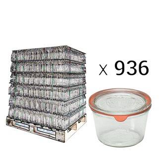 Verrines Weck 370 ml par palette de 936