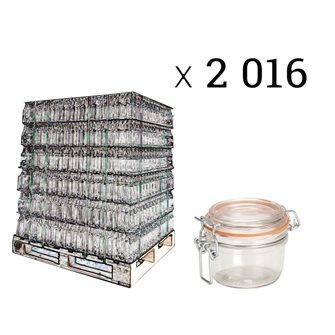 Verrine 125 grammes par palette de 2016