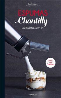 Livre Espumas & chantilly - 160 recettes
