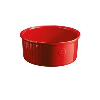 Moule à soufflé 21 cm céramique rouge Grand Cru Emile Henry