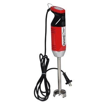 Mixeur plongeur professionnel 250 W pied démontable rouge