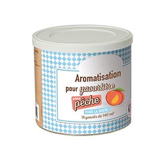 Aromatisation pour yaourtière parfum pêche