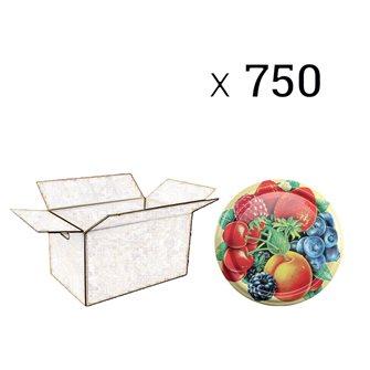 Capsules twist-off 82 mm décor fruits par 750 pcs