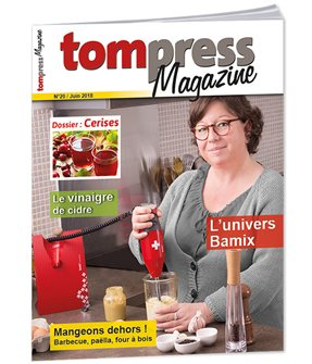 Tom Press Magazine juin 2018