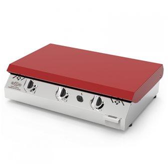 Planchas et plaques de cuisson tom press - Plancha gaz plaque inox ...