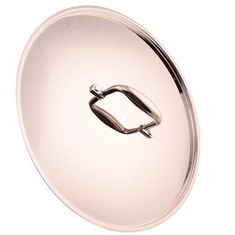 Couvercle aluinox finition miroir 36 cm
