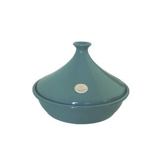 Tajine céramique 32 cm 6 à 10 personnes bleu Lagon Emile Henry