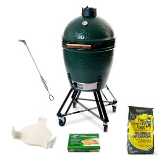 Big Green Egg Large pack Original diffuseur convEGGtor OFFERT
