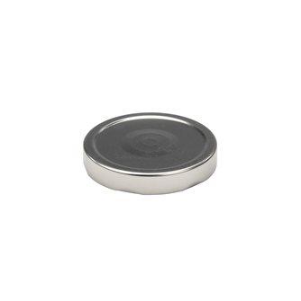 Capsule pour Bocal Jupe Haute diam 82 mm couleur argent par 20