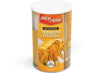 Prime pilsner pour bière blonde Gold