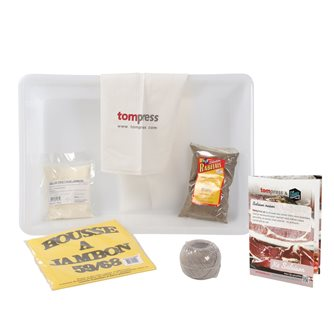 Kit pour la salaison du jambon sec par Tom Press