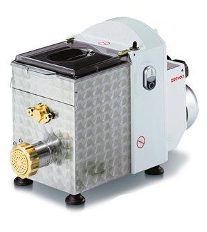 Machine à pâtes fraîches électrique professionnelle 370 W avec coupe pâtes et à filières 57 mm en bronze