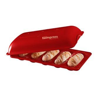 Moule 5 mini-baguettes en céramique Grand Cru Emile Henry - série spéciale 100 ans Tom Press